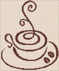 Картинки по запросу Cross stitch coffee