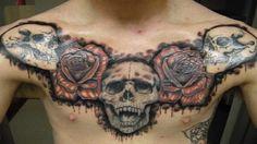 Cool Tattoo Ideas For Men - 15 Best Chest Tattoos Ideas For Men - Unique...