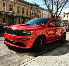 Jeep Grand Cherokee can't get better looking than this!