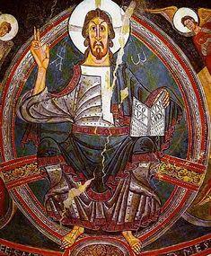 Maiestas Domoni, trónoló Krisztus ábrázolás, San Cemente templom