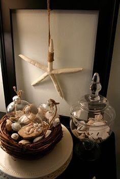 Love this! I tried this in my room but used clear fishing wire instead of the twine...still so cute!