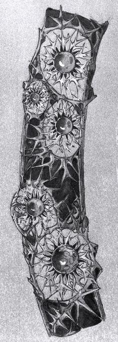 Art Nouveau Designer Rene Lalique's Jewelry sketches