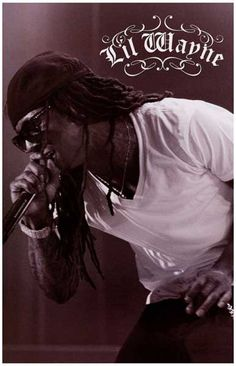 Lil Wayne The Carter On the Mic Music Poster 11x17