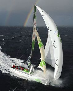 #vor70 Green Dragon challenging a 30 knots wind after the start in Galway during the @volvooceanrace 2008-2009 Photo credit : Rick Tomilison #sailing #yachting #sails #sail #northsails #wind #waves #sailboat #instasailing #yacht #sport #racing #yachtracing #crew #sailingstagram #volvooceanrace #volvo70 #galway #greendragon #secretsailing