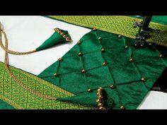 Traditional Blouse Designs, Simple Blouse Designs, Stylish Blouse Design, Blouse Designs Catalogue, Saree Blouse Neck Designs, Fancy Dress Design, Designer Blouse Patterns, Kurti, Sewing