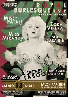 Art work by Voodoo De Luxe © Vintage Web Design, Burlesque, Pin Up, Teddy Bear, Voodoo, Flyers, Dancers, Art Work, Exotic