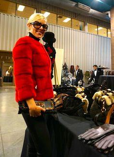 Red Mink Jacket by Michael Kors   - #AlaskanFur #AFC #KansasCity #KC #Fashion #Fur #Charity #Fall #Winter #FallFashion #Jackets #Coats #Womenswear #Model #BTS #Designer #lookbook #beautiful #glamorous #glam #leather #cashmere #workit #Tablescapes2013 #Tablescapes #BOTAR #AmericanRoyal #TheAmericanRoyal #michaelkors