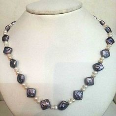 A Beautiful Single Line Fresh Water Pearl Necklace