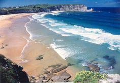 Playa de Langre. Santander,  Cantabria. Spain.