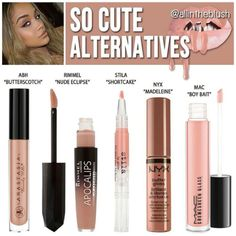 Kylie Jenner lip gloss dupes for So Cute