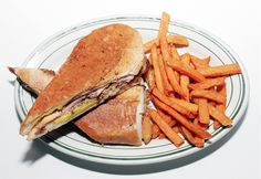 A classic Cuban sandwich at Havana Central in NYC