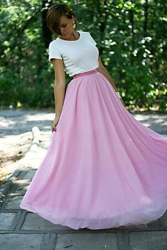 Discover this look wearing Bubble Gum Handmade Skirts - Bubble gum dream by Chaba styled for Chic, Everyday in the Summer Dress Skirt, Dress Up, My Kind Of Love, Rose Colored Glasses, Handmade Skirts, Everything Pink, Pink Love, Style Me, Stylish