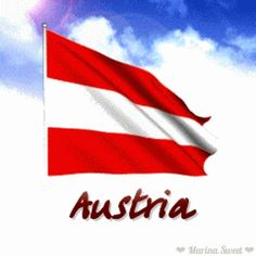 Animated flag of Austria