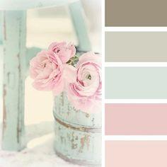 Rustic pastel