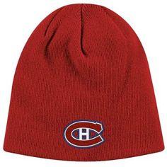 Reebok Montreal Canadiens Knit Hat Montreal Canadiens, Ml B, Sports Teams, Nhl, Reebok, Hockey, Knitted Hats, Logo, Knitting