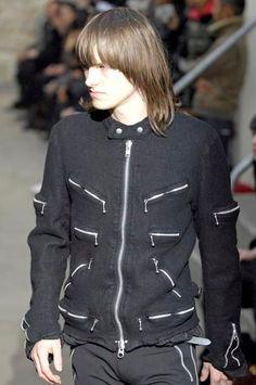 junya watanabe man comme des garcons runway boiled wool rider jacket