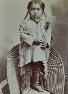 Kiowa boy - circa 1890