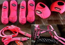 Tough 1 Extreme Vented Sports Medicine Splint Boots Horse Pink WANT!!!