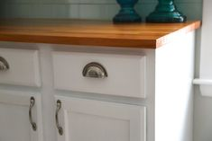 How to paint oak kitchen cabinets - Weekend Craft