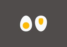Egg / toilette  Jezz Burrows #design #illustration #flat