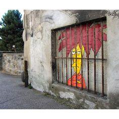Street Art que interactúa con su entorno | eHow en Español