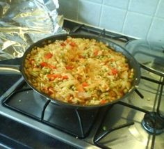 Vegetable Paella - recipe used in Spain Bbc Good Food Recipes, Vegetarian Recipes Easy, Veggie Recipes, Seafood Recipes, Baby Recipes, Quick Recipes, Vegetarian Paella, Slow Cooker Recipes