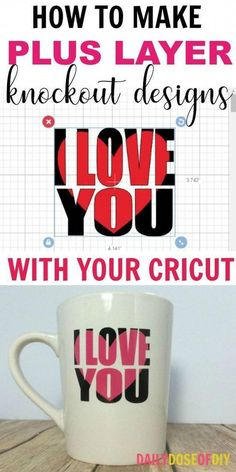 In this tutorial, I'm going to show you how to make knockout designs in Cricut design space. I didn't write about knockout designs on my recent post about how to edit text in design space and I've had…More Tips And Tricks, Mason Jar Crafts, Mason Jar Diy, Vinyle Cricut, Für Dummies, Shilouette Cameo, Cricut Help, Cricut Air, Image Transparent