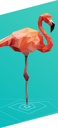 Low Poly - serie of polygonal studies by Breno Bitencourt