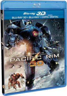 Pacific Rim Blu-ray 3D ★★★★★