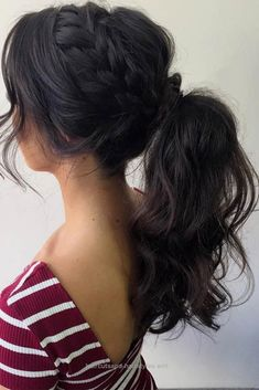 Lovely Best Sporty Ponytail Hairstyles for Your Workout Routine ★ See more: lovehairstyles.co… The post Best Sporty Ponytail Hairstyles for Your Workout Routine ★ See ..
