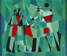MID-CENTURIA : Art, Design and Decor from the Mid-Century and beyond: Laila Prytz Paintings