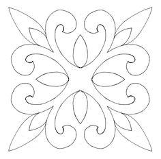 53 Ideas Machine Quilting Templates Applique Patterns For 2019 Quilting Stencils, Quilting Templates, Stencil Patterns, Stencil Designs, Applique Patterns, Applique Quilts, Quilt Patterns, Wool Quilts, Block Patterns