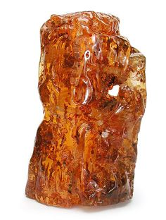 "Copal Amber is not the fossilized, hardened resin that is known as amber, but rather an immature recent resin less than 250 years old.  Increasingly, copal is being offered for sale via the online auction services, fossil dealers' websites, gem shows, and shops, misrepresented as ""amber."""