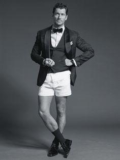 David Gandy is GQ Australias International Style Icon