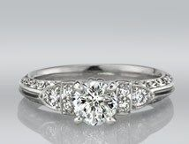 Society Hill Diamond Ring from Cross Jewelers