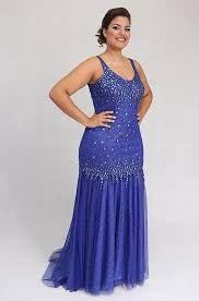 نتيجة بحث الصور عن vestidos de festa azul plus size curto