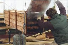 Bending wood the easy way, demonstrates how to build a steam box along with pictures to complete the project