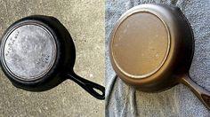 TRO DET ELLER EI: Dette er faktisk den samme støpejernpannen. Vi viser deg hvordan du også kan få det til. © FOTO: Julia Frost / ibelieveicanfry.com
