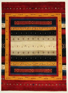 Loribaft  Teppich  Modern  Alfombra oriental carpets and rug 244 x 178 cm