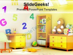 Children Room Architecture PowerPoint Backgrounds And Templates 1210 #PowerPoint #Templates #Themes #Background