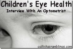 Children's Eye Health - Interview With an Optometrist Kids Health, Pregnancy Tips, Parenting Hacks, Your Child, Health And Beauty, Interview, Children Health