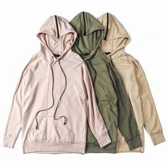 """Introducing the """"Shield Hoodie III"""" in new earth tone colors from @DanielPatrick_'s Fall 2015 Collection 