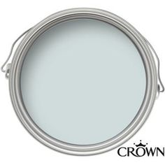 Crown Period Collection Attingham Blue - Flat Matt Emulsion Paint - 40ml