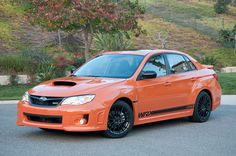 2013 Subaru WRX Special Edition... I'll take one of these...