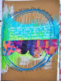 Dina Wakley art journal
