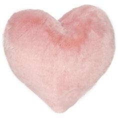 Nordstrom Rack Lunar Faux Fur Heart Pillow (72 PLN) ❤ liked on Polyvore featuring home, home decor, throw pillows, pillows, pink sand, heart throw pillow, pink home decor, faux fur throw pillows, pink home accessories and nordstrom rack
