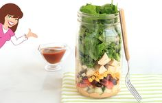 Here's How to Make a Salad in a Jar