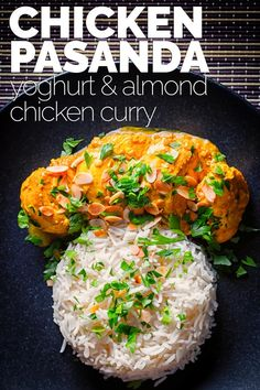 A chicken pasanda is a relatively mild 'Mughal' curry loaded with yoghurt and almond and is one of my absolute favourites. via A chicken pasanda is a relatively mild 'Mughal' curry loaded with yoghurt and almond and is one of my absolute favourites.