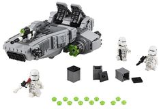 Pin for Later: All of the Star Wars Toys Your Kids Will Want This Holiday Season Lego Star Wars First Order Snowspeeder Lego Star Wars First Order Snowspeeder ($40)