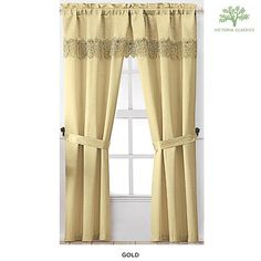 5-Piece Set: Mira Window Coverings by Victoria Classics - Assorted Colors at 54% Savings off Retail!